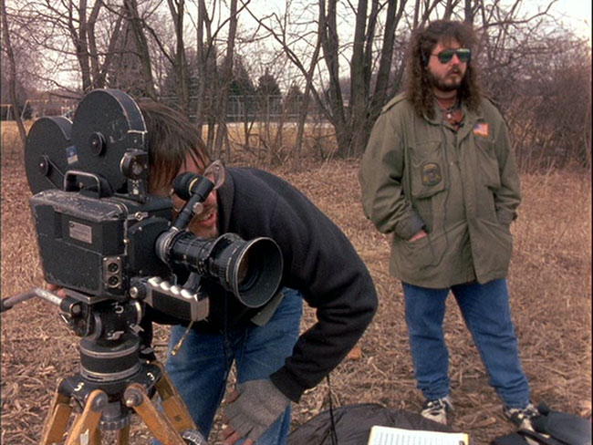 Wisconsin horror filmmaker Mark Borchardt in American Movie