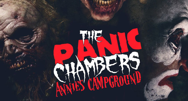 The Panic Chambers haunted house in Gresham, WI