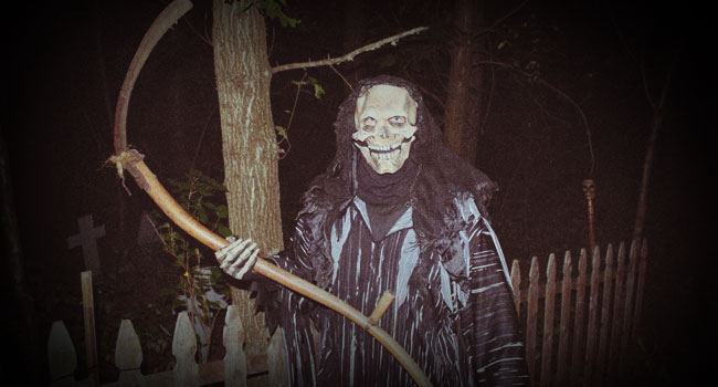 Schuster's Haunted Forest in Deerfield, WI