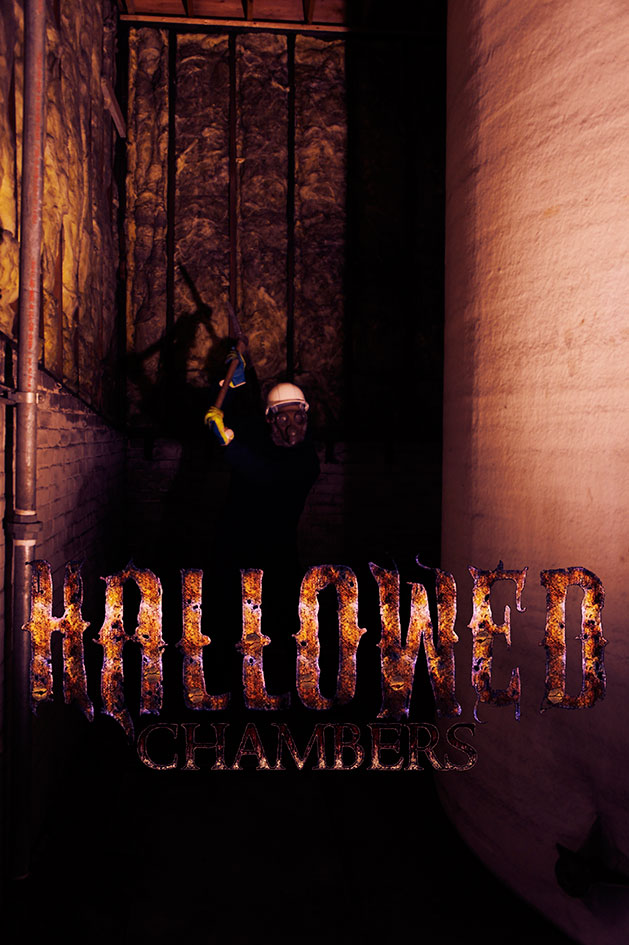 Hallowed Chambers haunted house in Berlin, WI