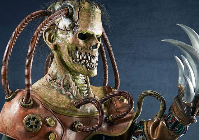 Steampunk Frankenstein halloween costume
