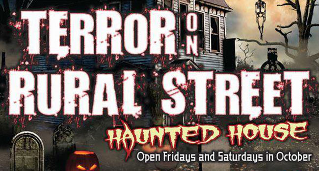 Terror on Rural Street haunted house