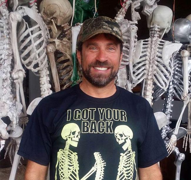 Holy Hill Skeletons creator Jimmy Zamzow