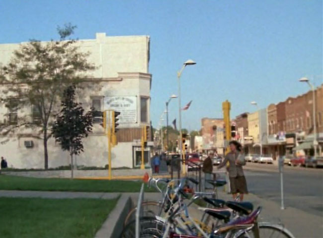 Downtown Beaver Dam as seen in the 1981 horror movie The Pit