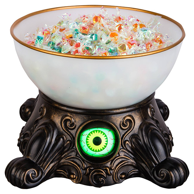 Halloween crystal ball candy bowl