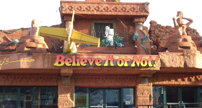Ripley's Believe It or Not in Wisconsin Dells