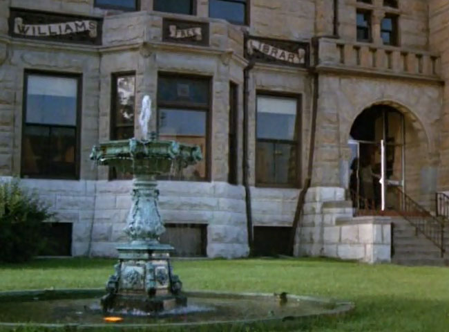 Beaver Dam library seen in the 80s horror movie The Pit