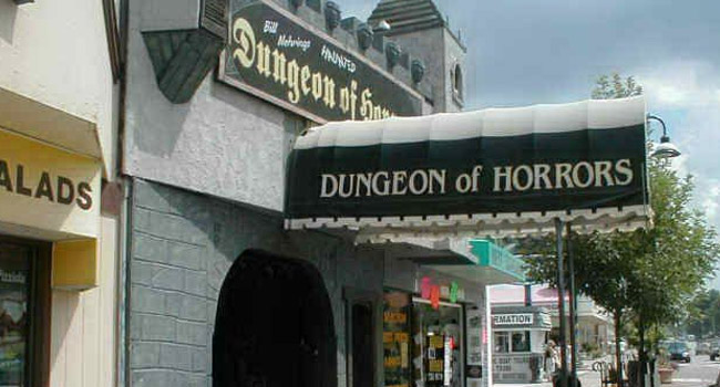 Dungeon of Horrors haunted house in Wisconsin Dells