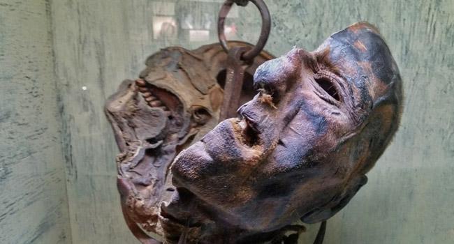 Peter Kurten's head in Wisconsin Dells