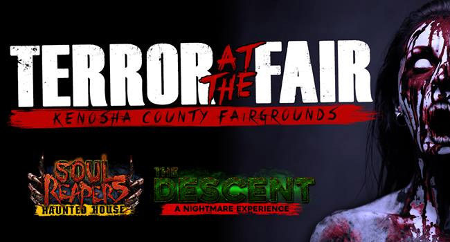 Terror at the Fair haunted house at the Kenosha County Fairgrounds