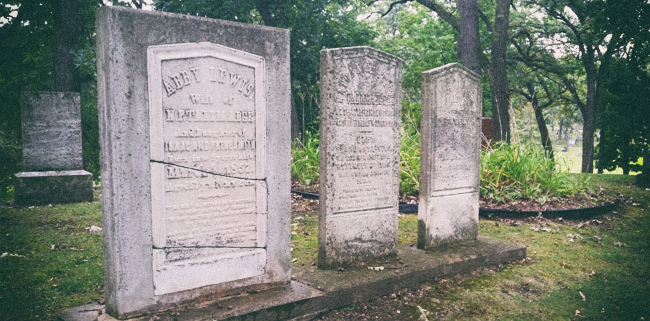 Haunted cemeteries in Wisconsin