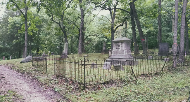 Haunted Glenbeulah Cemetery