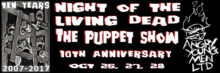 Night of the Living Dead puppet show