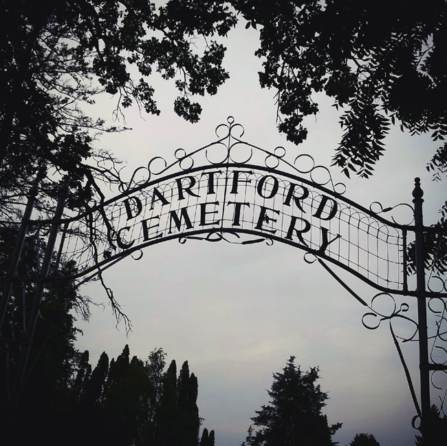 Haunted Dartford Cemetery in Green Lake, WI