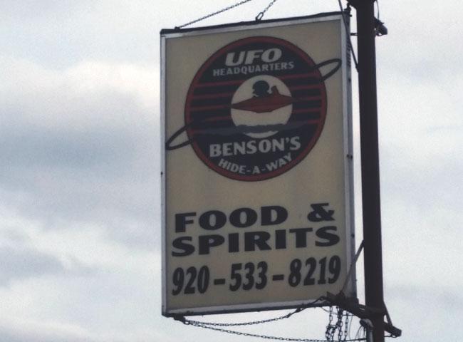 Benson's Hideaway UFO Headquarters