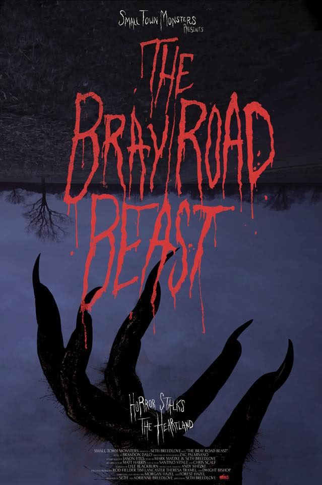Poster for The Bray Road Beast documentary from Small Town Monsters