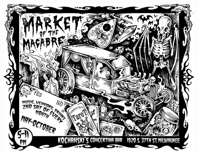 Market of the Macabre in Milwaukee