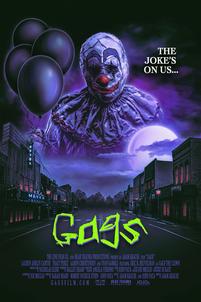 Gags horror movie poster