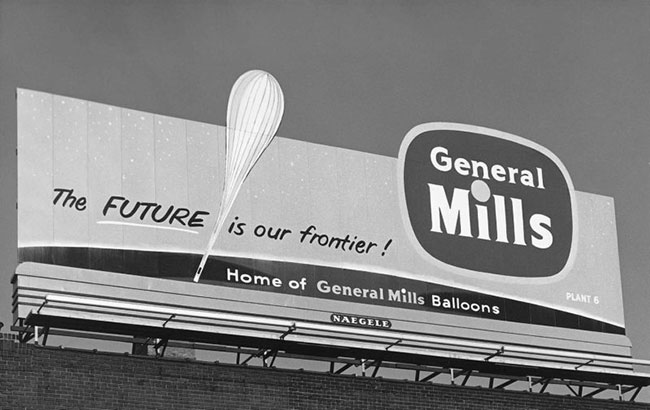 Home of General Mills balloons