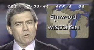 Elmwood UFO Days on CBS News 1988