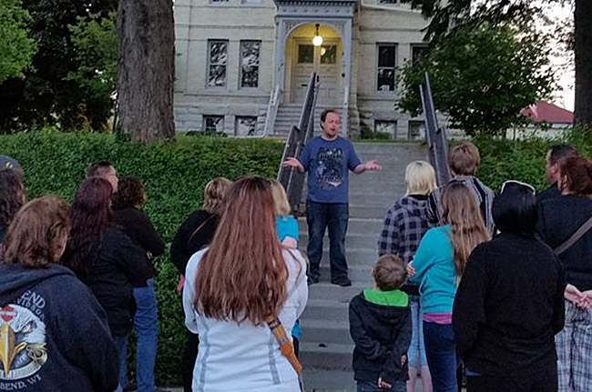 Downtown West Bend Ghost Walk with author J. Nathan Couch