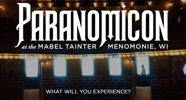 ParaNomiCon at the Mabel Tainter THeater