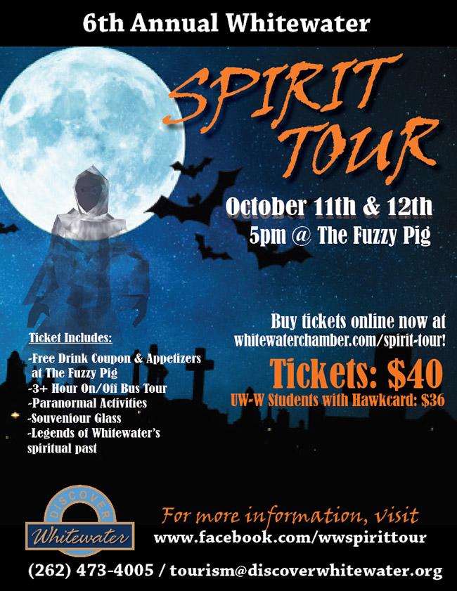 Whitewater Spirit Tour