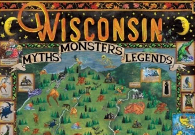 Wisconsin Myths, Monsters, and Legends at the Museum of Wisconsin Art in West Bend