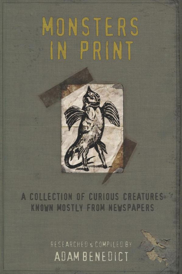MOnsters in Print book by Adam Benedict