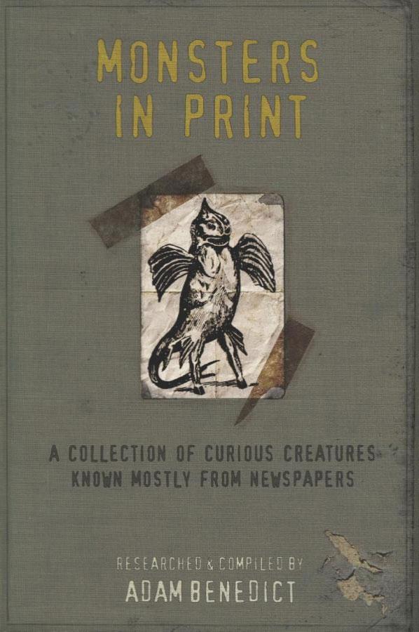 MOnsters in Print book by Adam Benedict