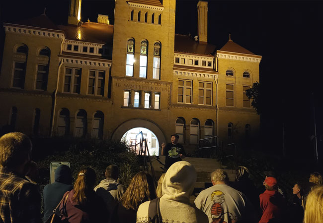 Haunted Old Courthouse Museum