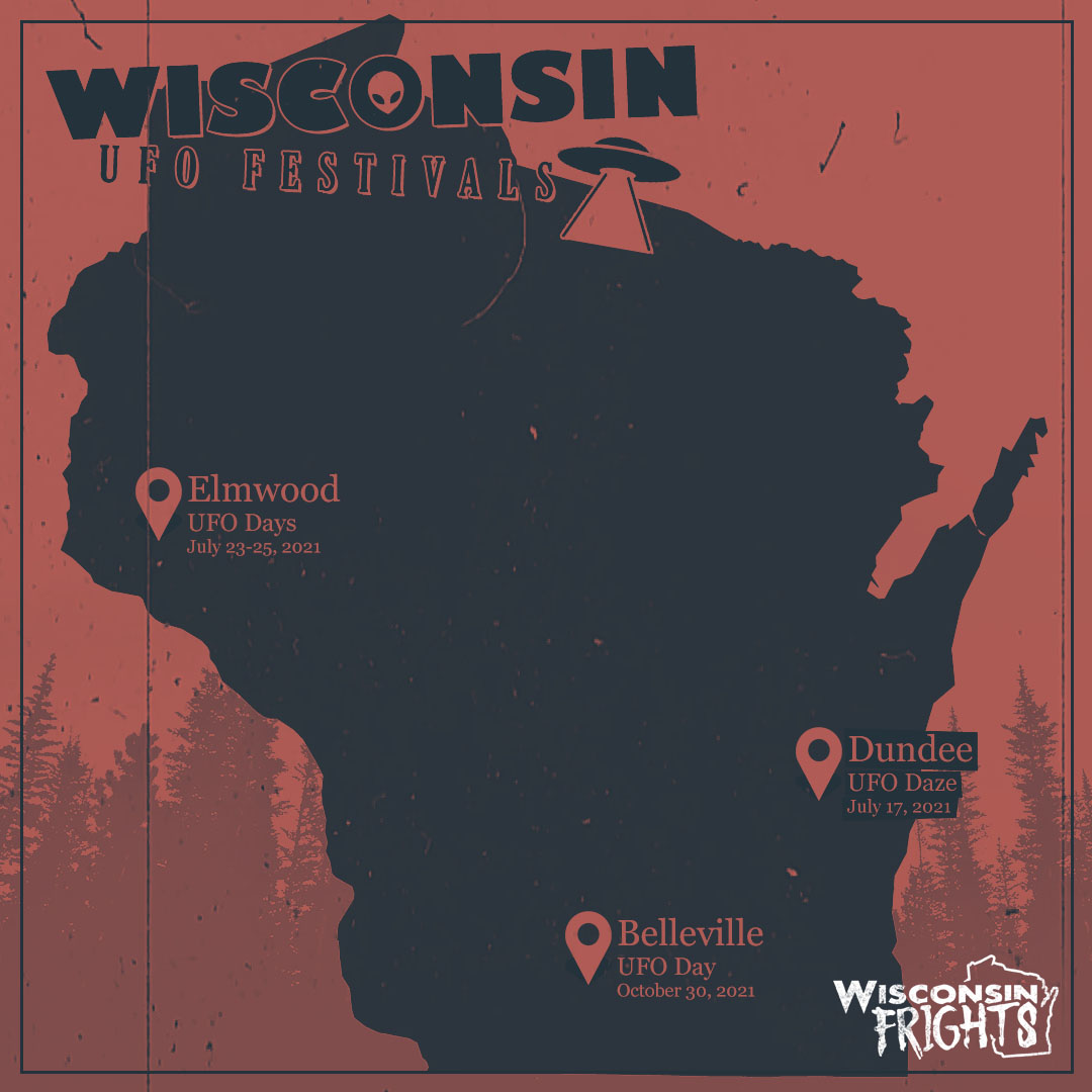Wisconsin UFO sightings are likely at these three UFO festivals around the state