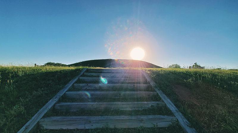 Aztalan mound