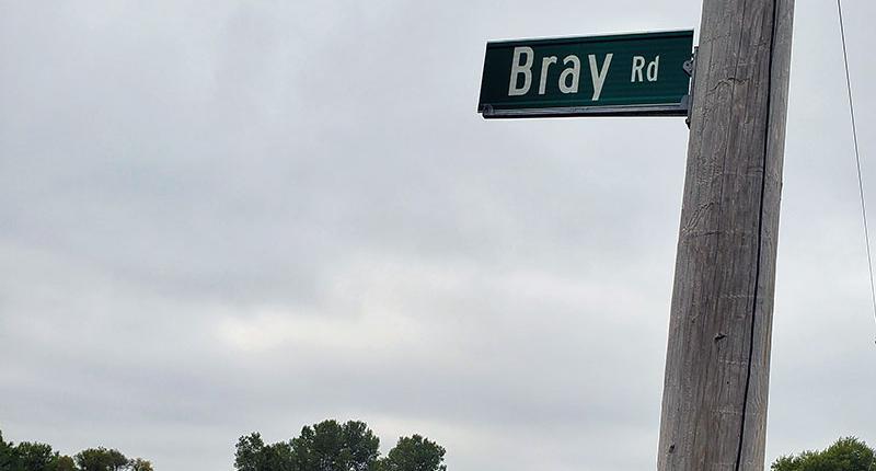 Bray Road in Elkhorn, WI