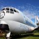 C97 Stratofrieghter plane at the Don Q Inn