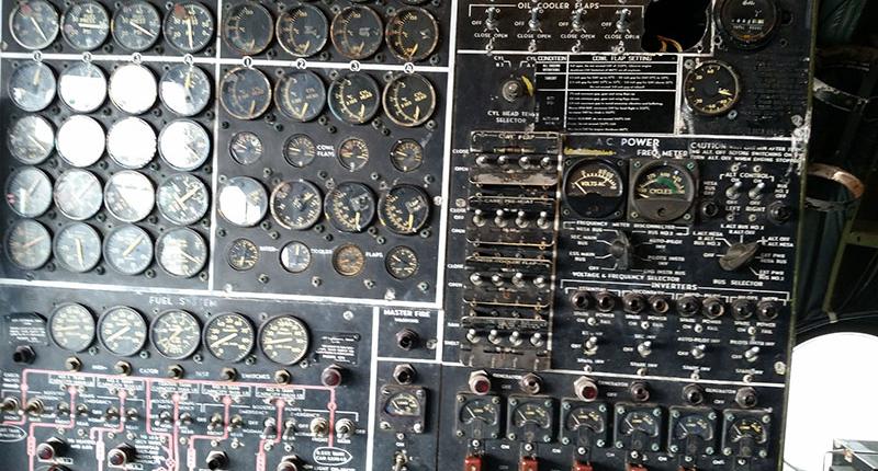 Don Q Inn plane control panel
