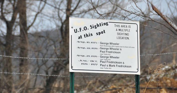 Elmwood UFO sightings