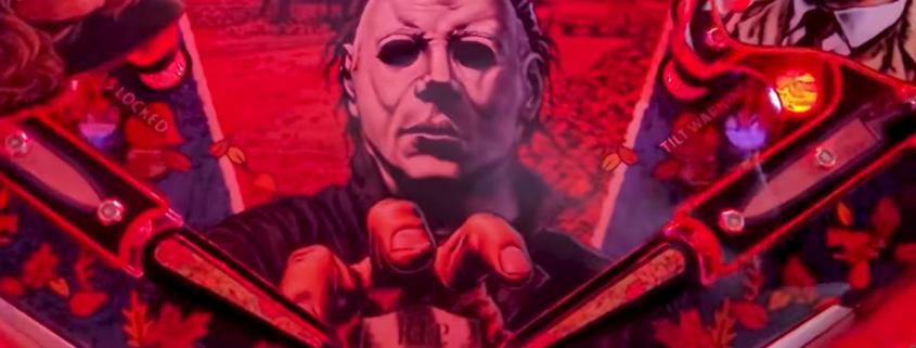Halloween pinball machine