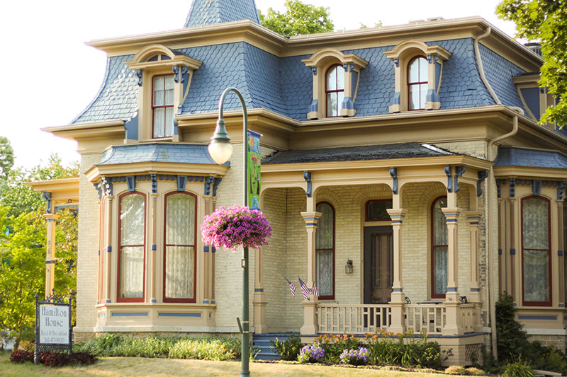 Haunted Hamilton House in Whitewater, WI