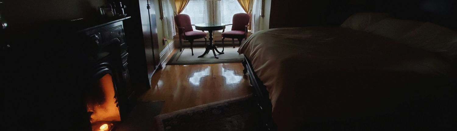 Sarah Posey's room in the Hamilton House