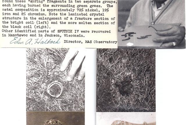 Sputnik debris scattered across Wisconsin