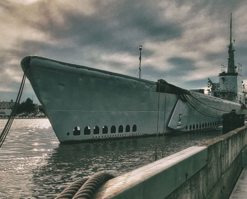 USS Cobia haunted submarine in Manitowoc, WI