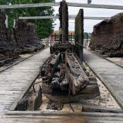 Lottie Cooper shipwreck in Sheboygan