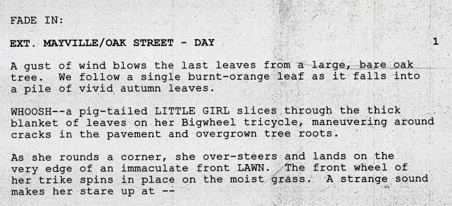 Monster House screenplay by Dan Harmon and Rob Schrab